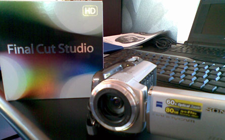 pic of camera and FCP