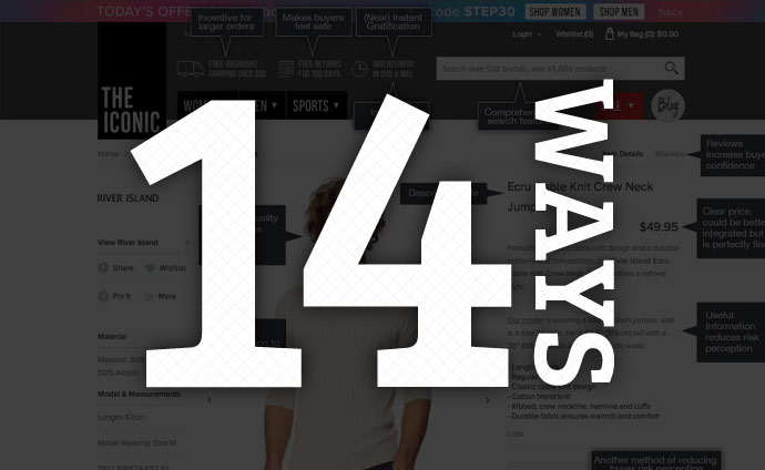 14 ways to make a product page sell