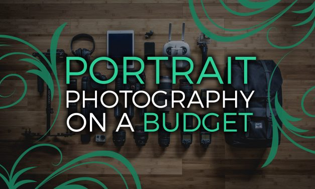 Portrait photography on a budget