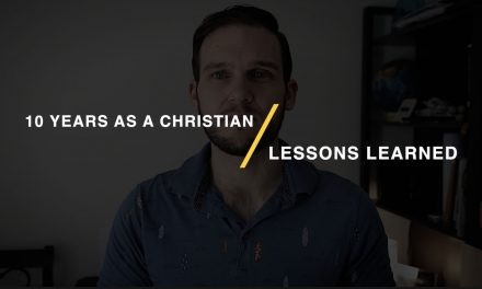 14 Lessons from 10 years As a Christian