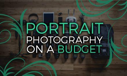 Portrait photography on a budget