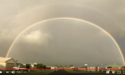 Quick vid: Rainbow